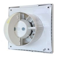 "Vent-Axia 446658B (VASF100B) 100mm/4"" Ducting Standard Silent Fan - Redesigned 2020 Edition"